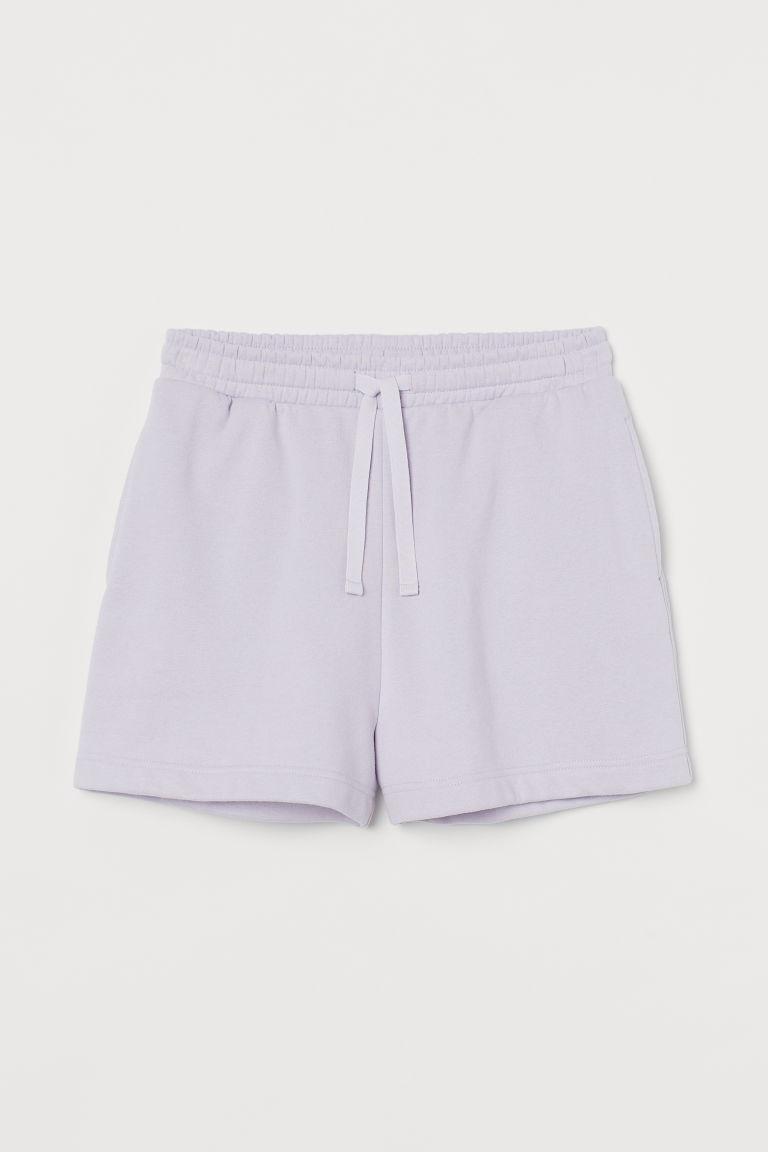 H & M - 運動短褲 - 紫色