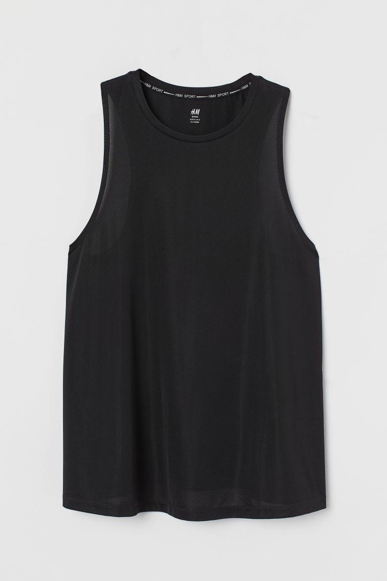 H & M - MAMA 運動上衣 - 黑色