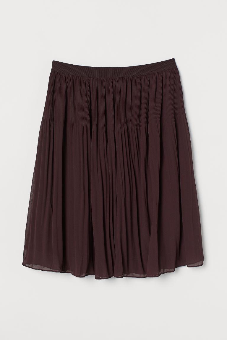 H & M - H & M+ 百褶裙 - 紅色