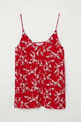 Crêped Camisole Top