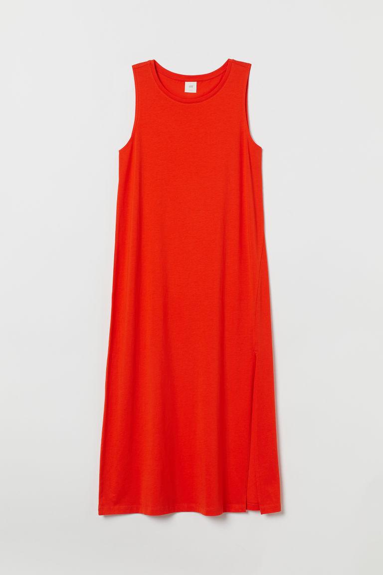H & M - 背心洋裝 - 橙色