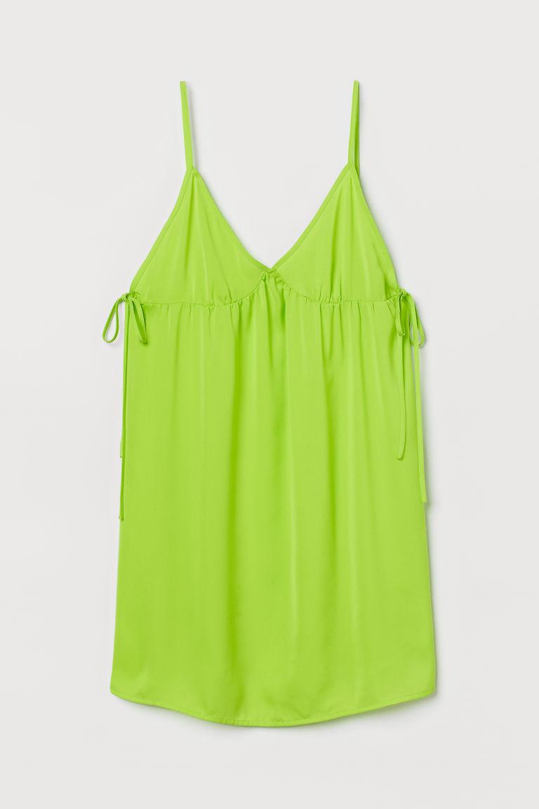 H & M - 傘狀上衣 - 綠色