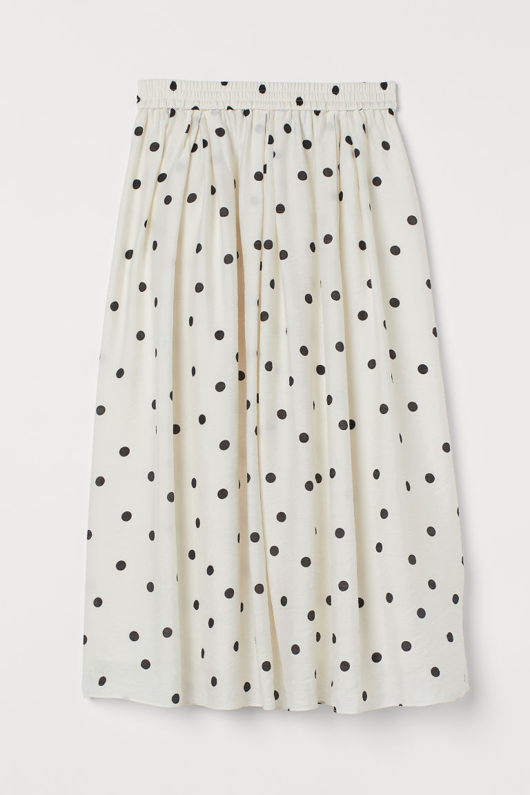 H & M - 圓裙 - 白色