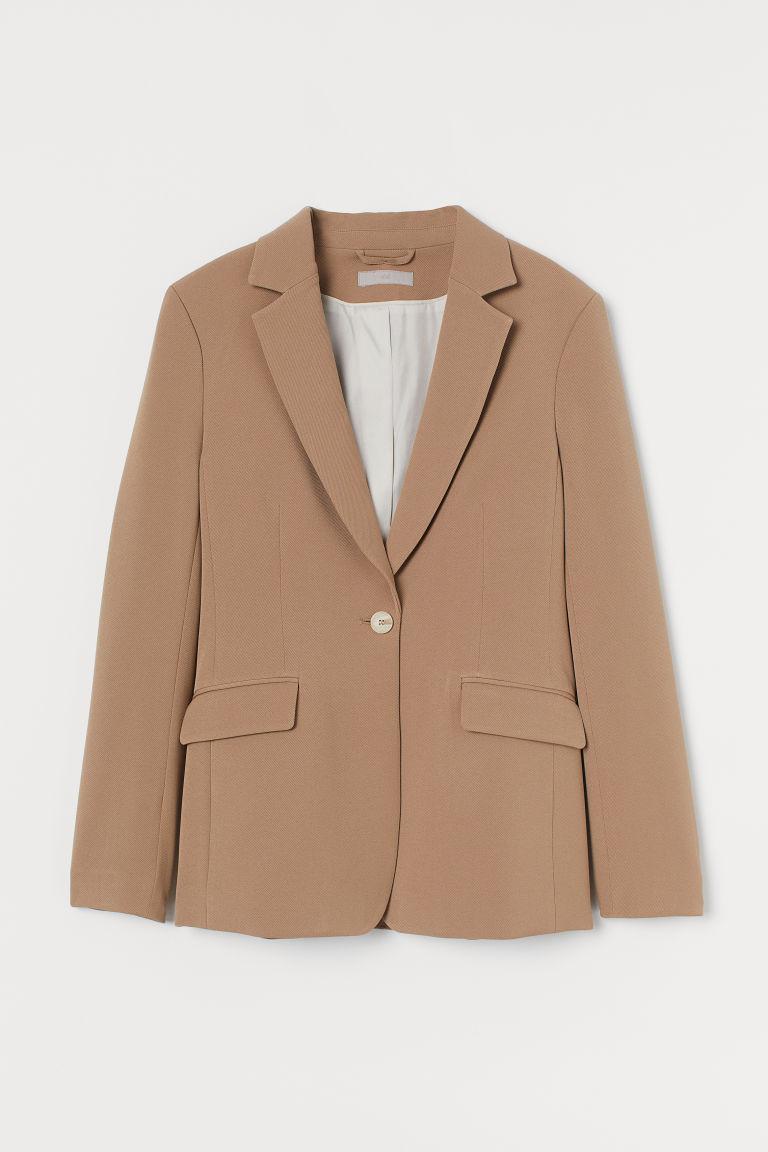 H & M - 合身外套 - 橙色