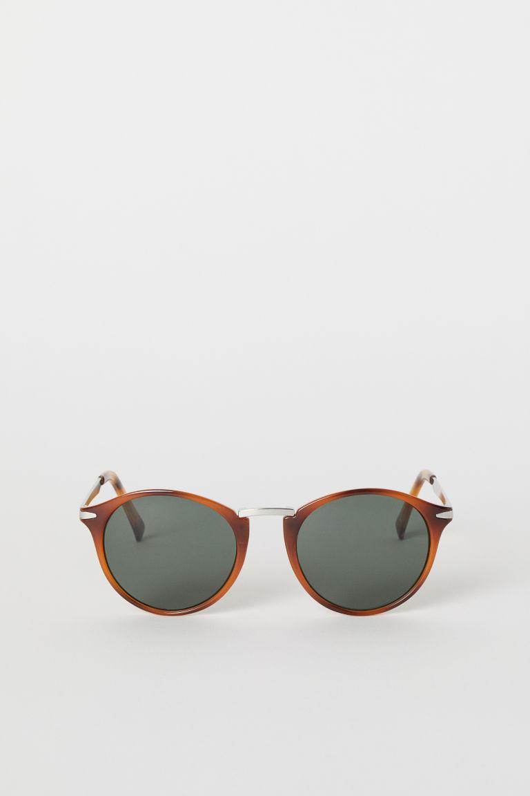 lunettes de soleil brun homme h m fr. Black Bedroom Furniture Sets. Home Design Ideas