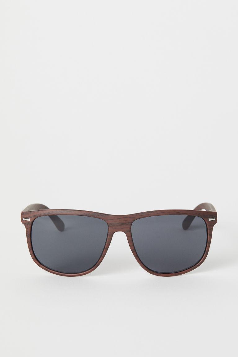 lunettes de soleil marron homme h m fr. Black Bedroom Furniture Sets. Home Design Ideas
