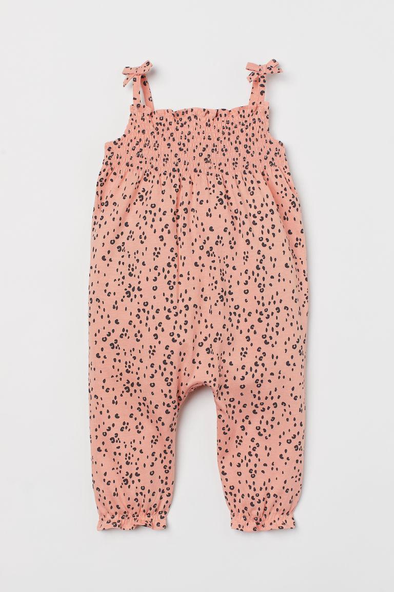 H & M - 印花連身褲裝 - 橙色