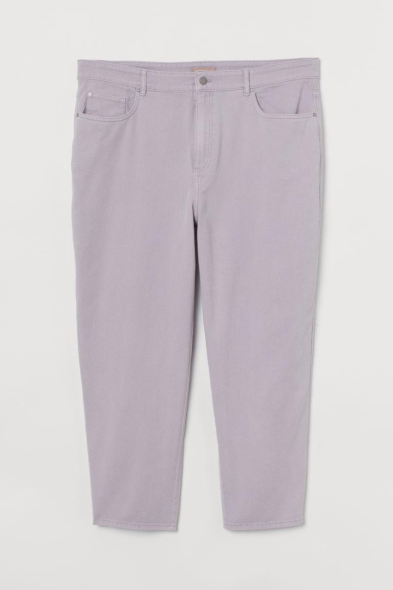 H & M - H & M+ 九分褲 - 紫色