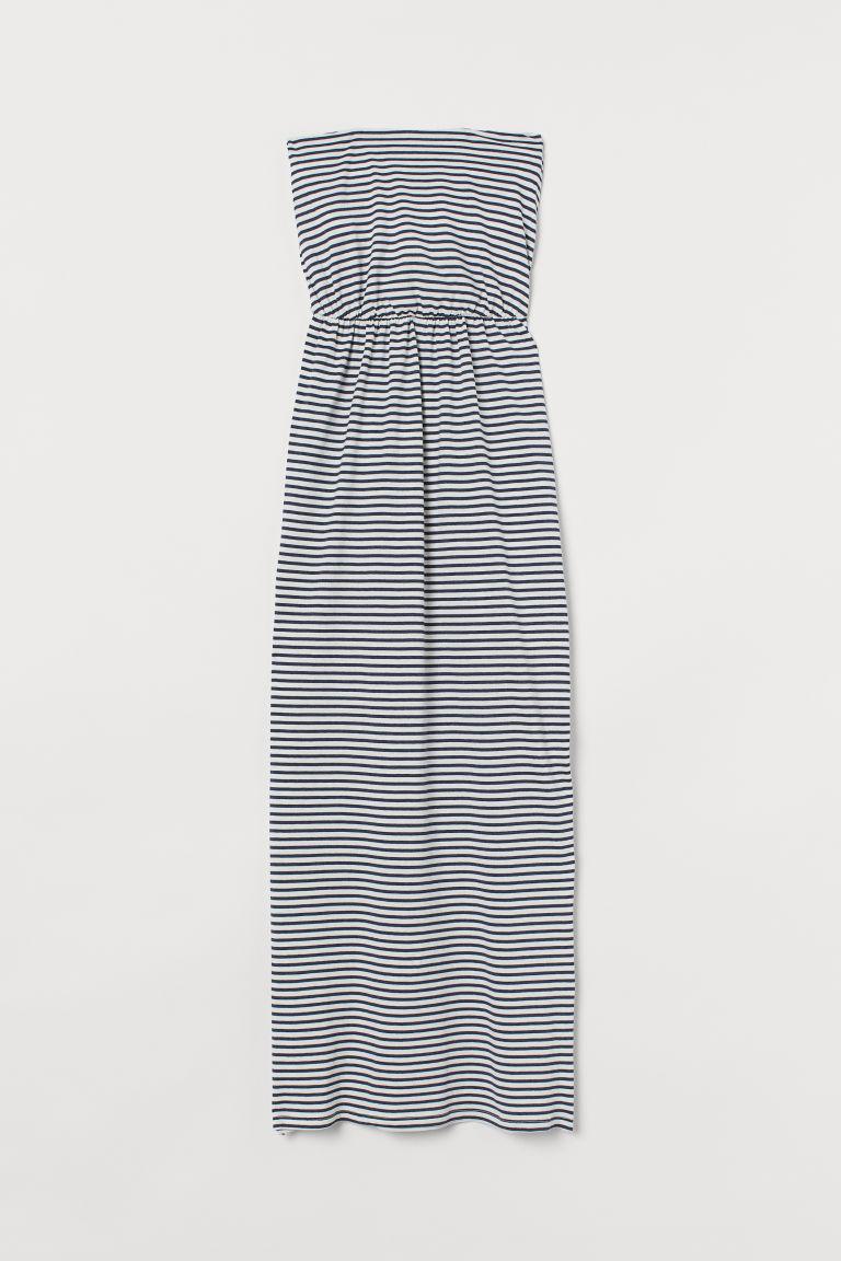 H & M - 及地長洋裝 - 藍色