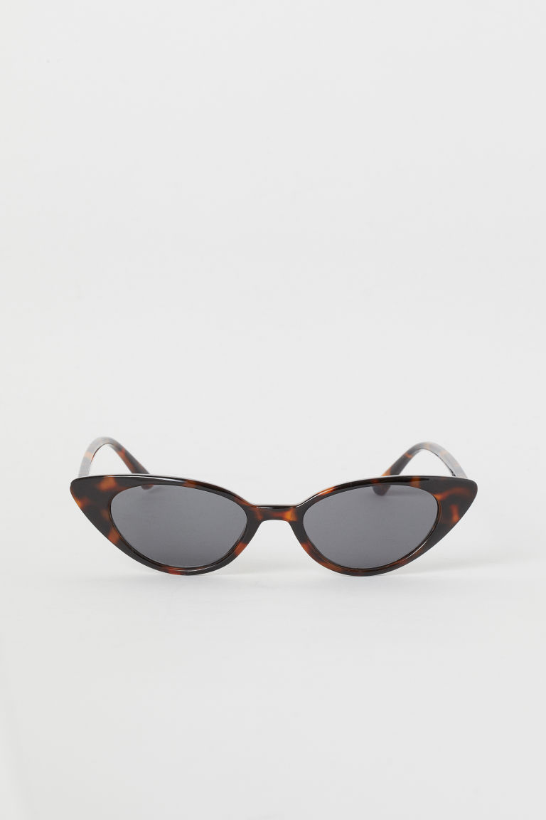 sonnenbrille brown tortoiseshell patterned ladies h m de. Black Bedroom Furniture Sets. Home Design Ideas