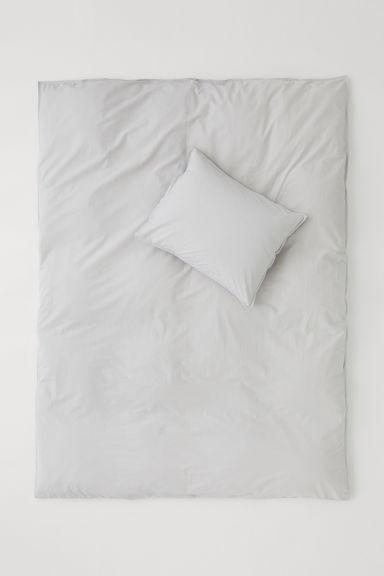 bettw sche hellgrau h m ch. Black Bedroom Furniture Sets. Home Design Ideas