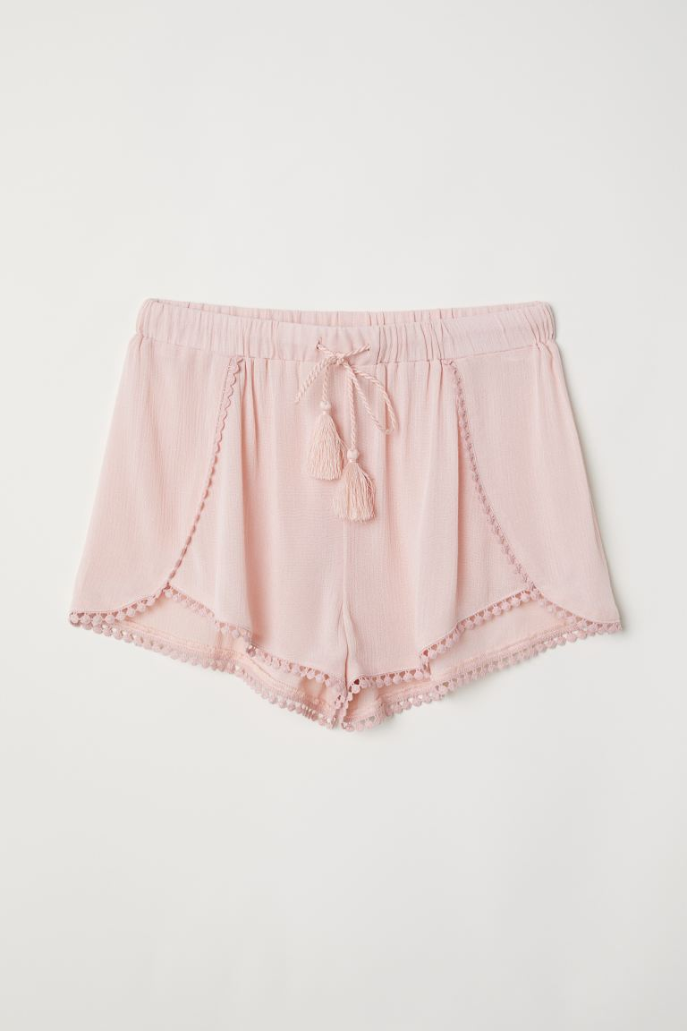 Pull-on shorts - Old rose - Ladies | H&M