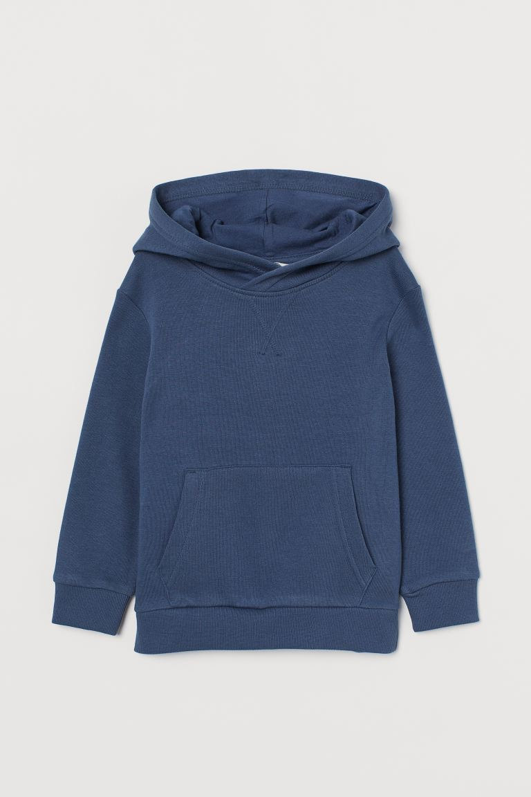 Hooded top - Steel blue - Kids | H&M