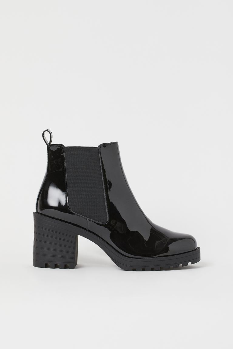 Ankle boots - Black/Patent - Ladies | H&M