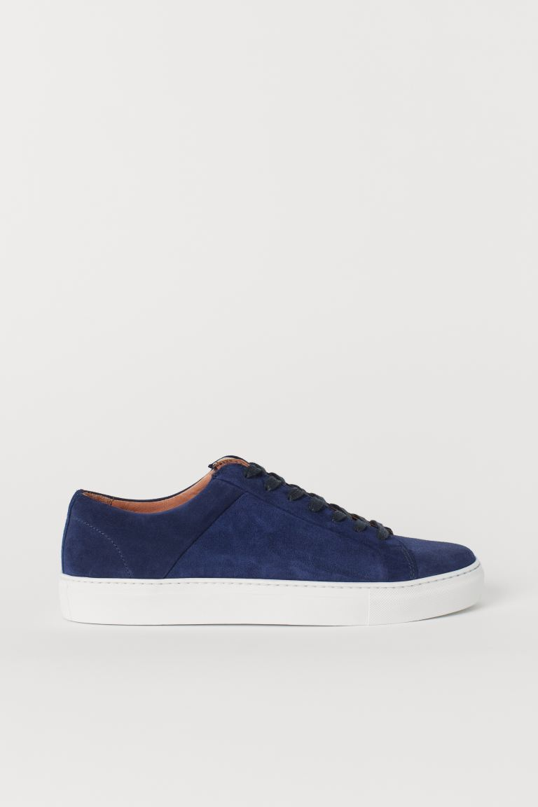 Sneakers - Blue/suede - Men | H&M US