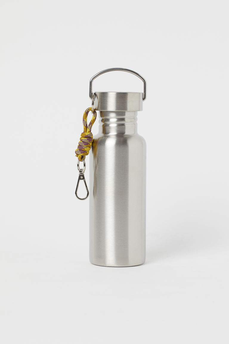 Stainless Steel Water Bottle - Silver-colored - Ladies | H&M US