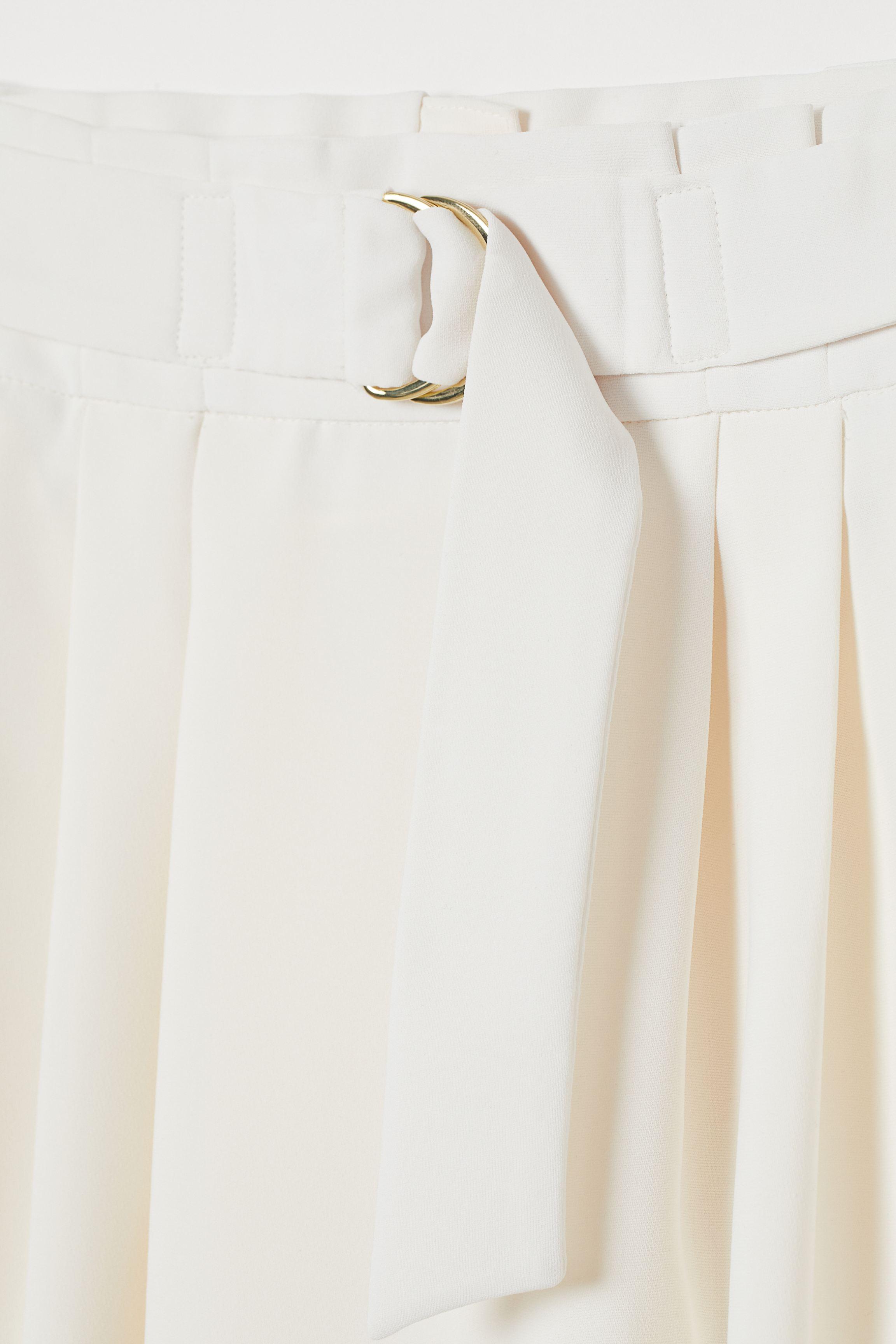 Skirt with Belt