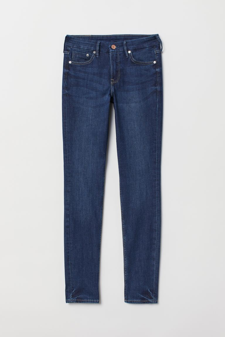 Skinny Regular Jeans - Blu denim scuro - DONNA | H&M IT