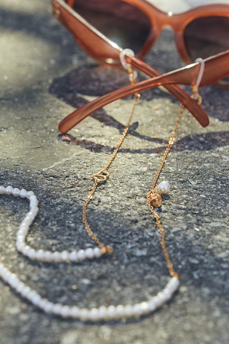 Glasses chain - Gold-coloured - Ladies | H&M GB