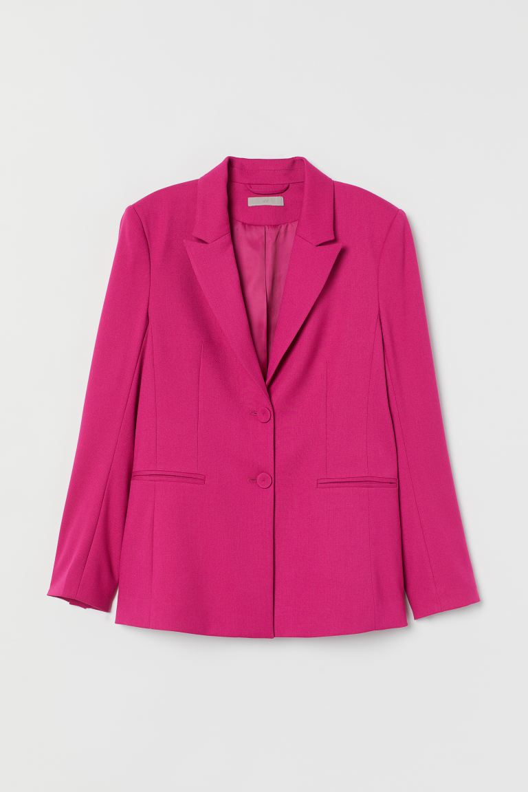 Fitted Jacket - Cerise - Ladies | H&M AU