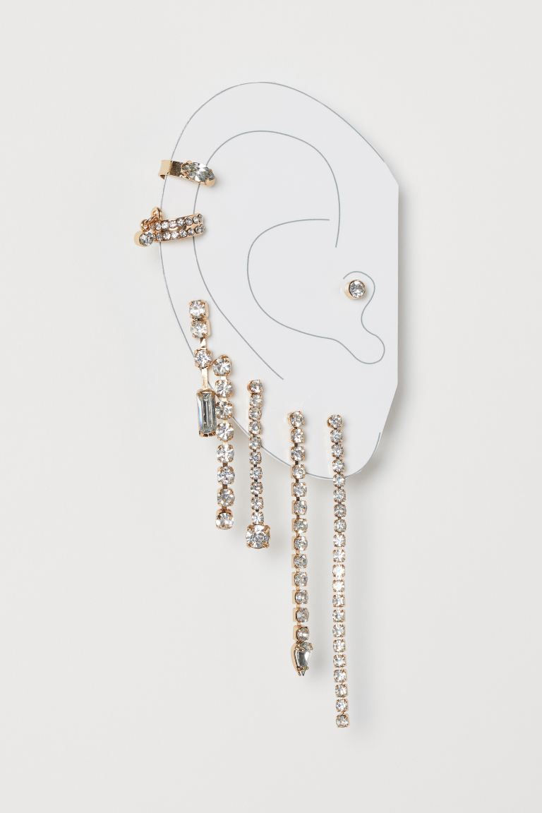 Earrings and Ear Cuffs - Gold-colored - Ladies | H&M CA