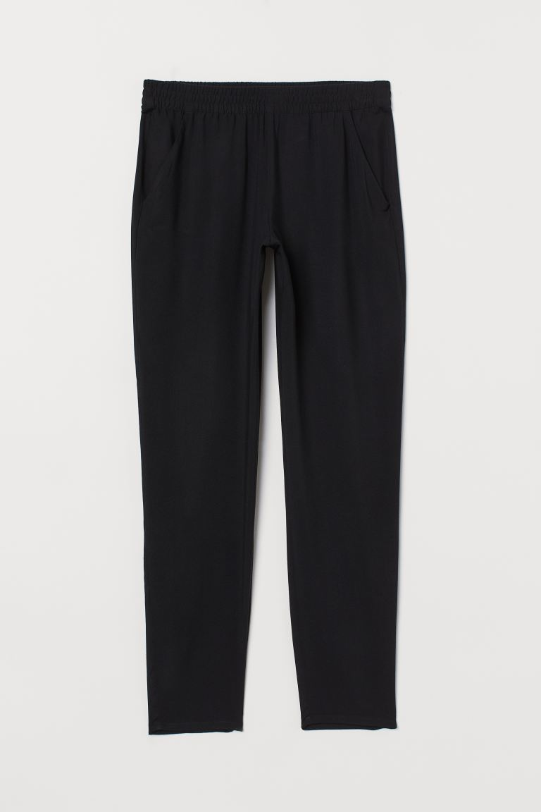 Pull-on Pants - Black - Ladies | H&M US