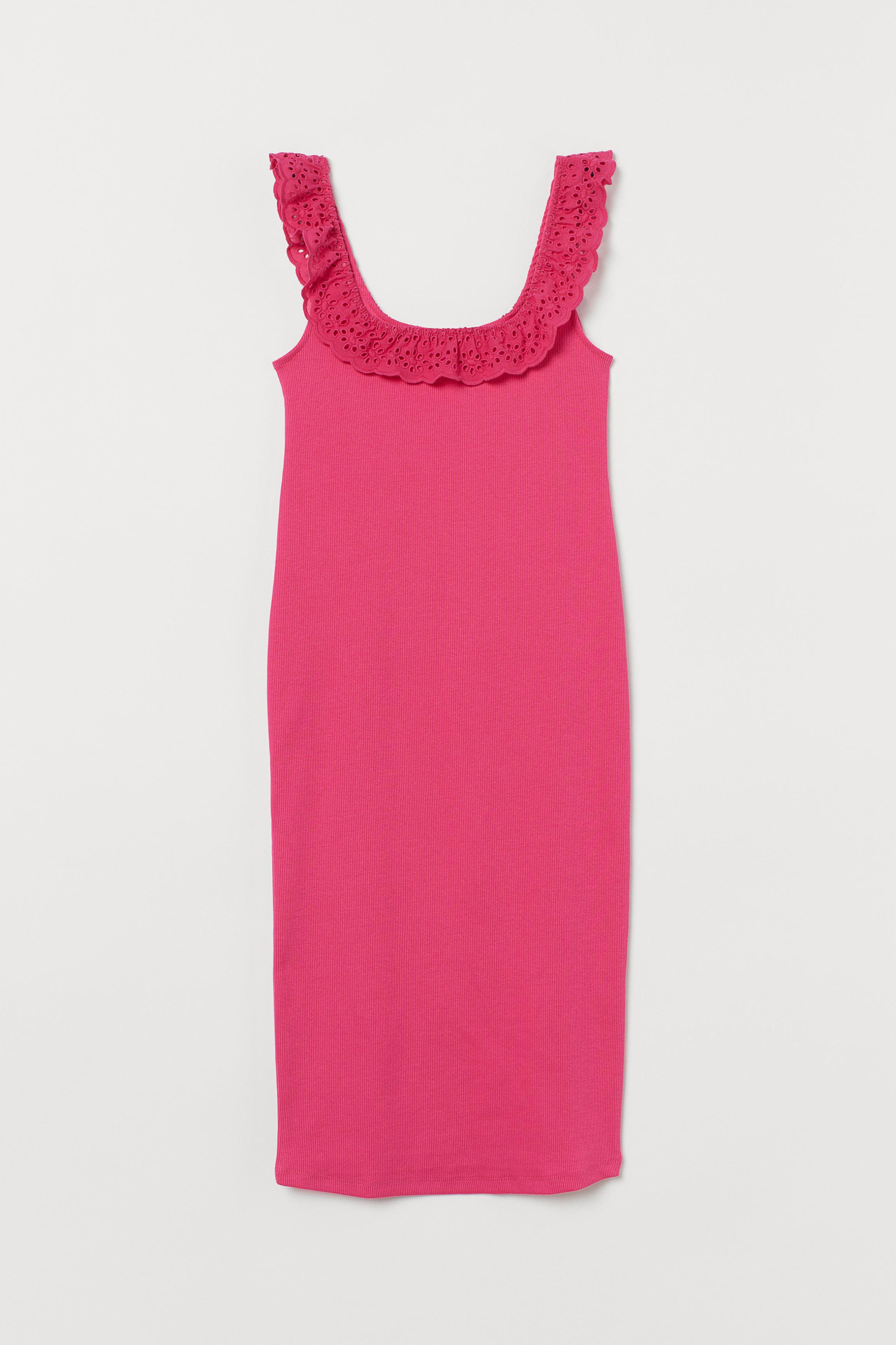 MAMA Ribbed Cotton Dress