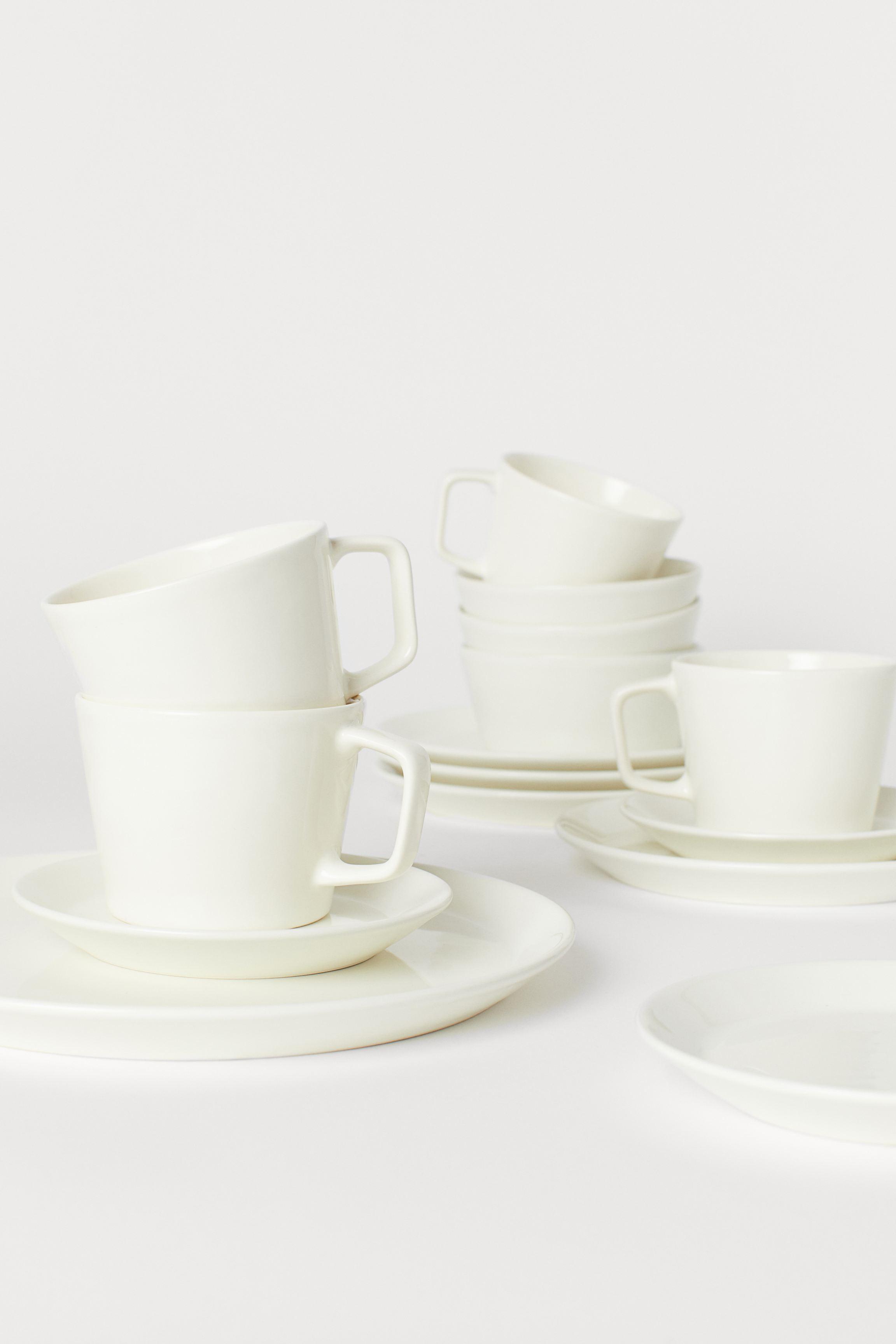 4-pack Ceramic Plates