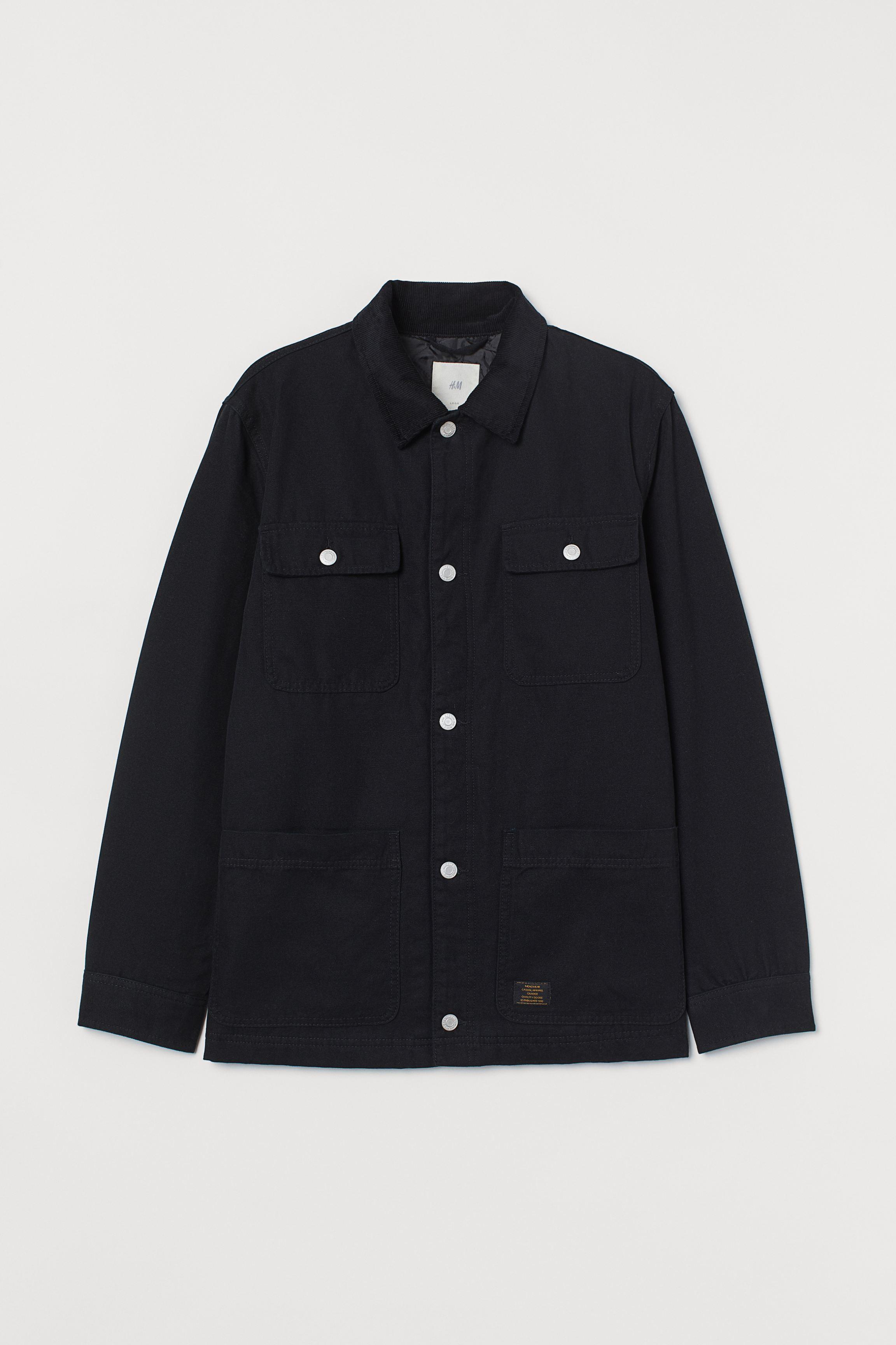 Corduroy Collared Jacket