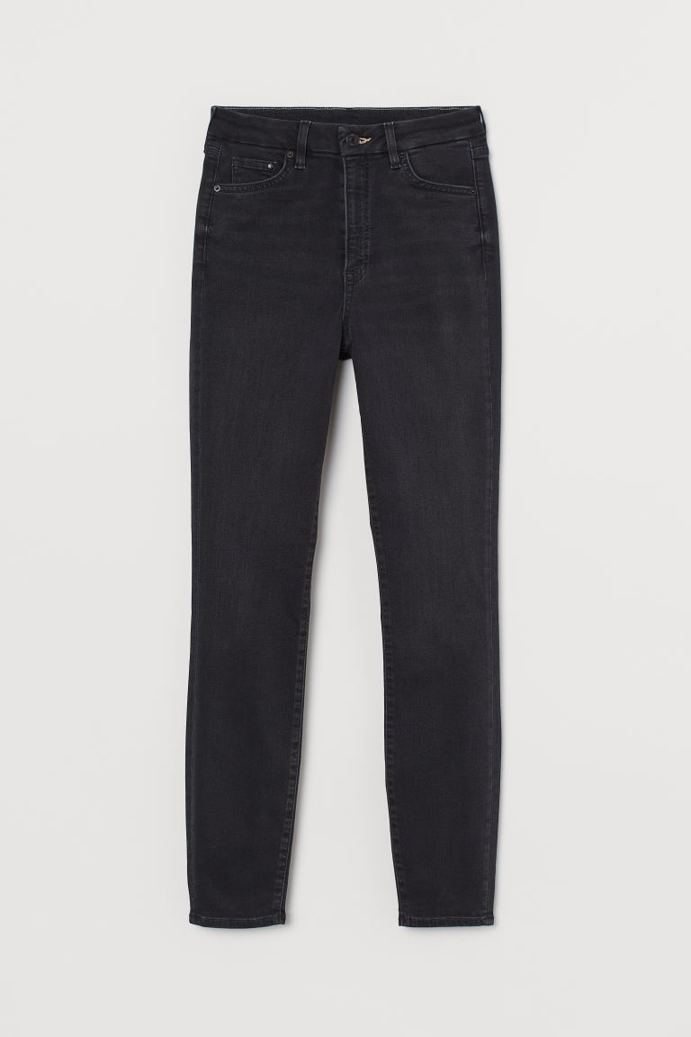 Embrace High Ankle Jeans - Black - Ladies | H&M AU