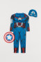 Blue/Captain America