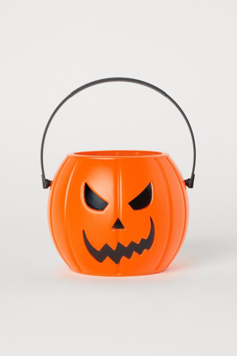 Halloween-Eimer - Orange/Kürbis - Kids | H&M AT
