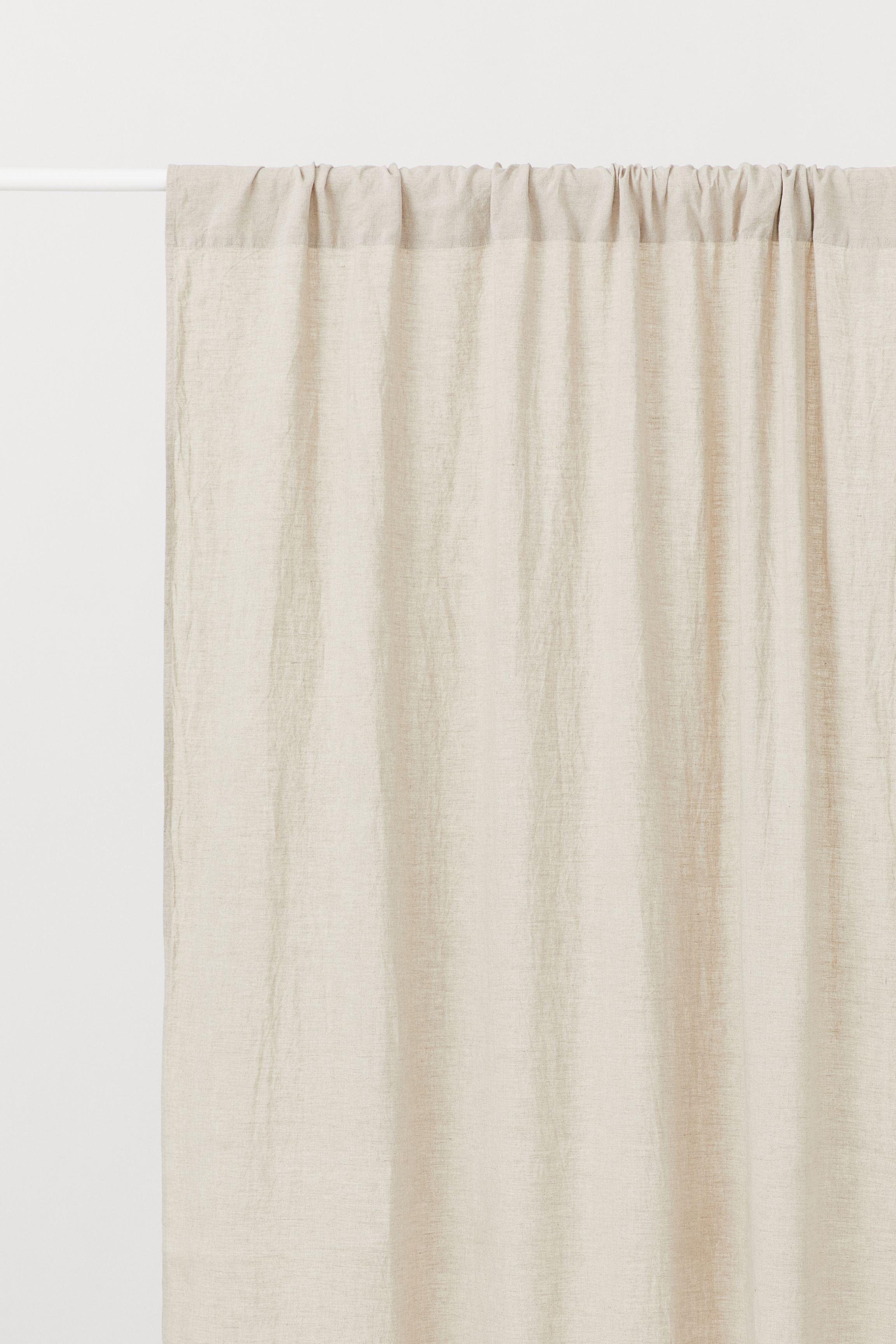 2-pack Linen Curtain Panels