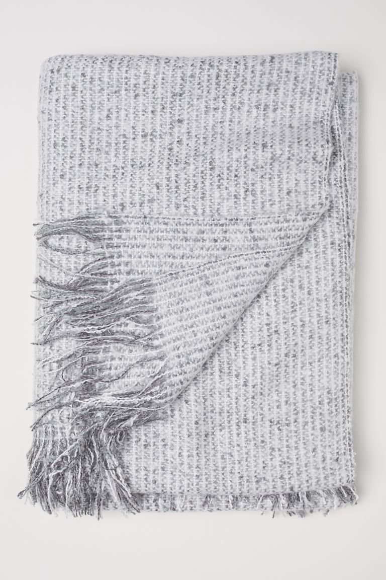 Soft Throw - Gray - Home All | H&M CA