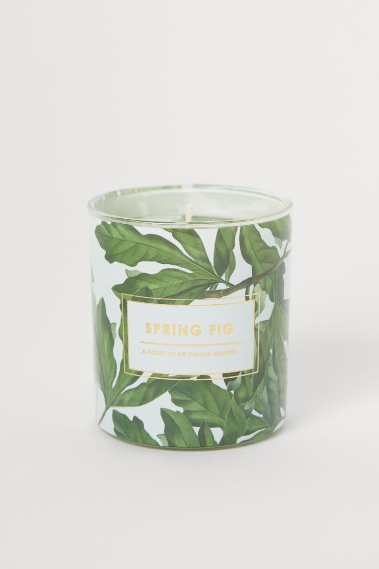 Candela profumata in vasetto - Bianco/Spring Fig - HOME | H&M IT