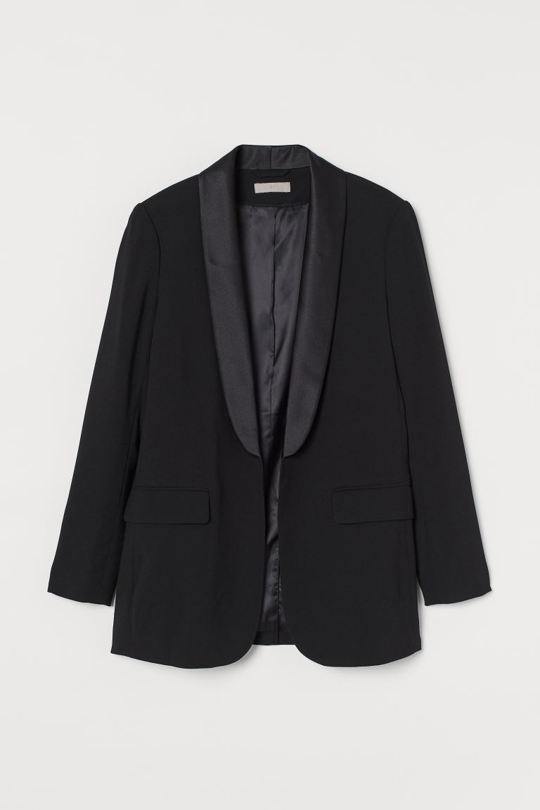Smoking-Blazer - Schwarz - Ladies | H&M AT