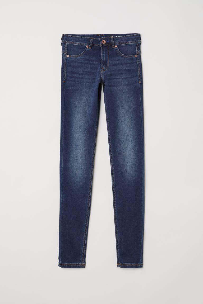 Super Soft Low Jeggings - Azul denim oscuro/Lavado - MUJER | H&M ES