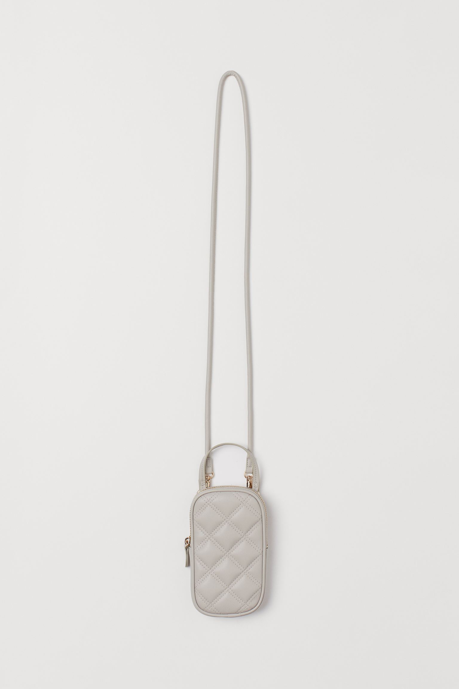 Quilted smartphone bag hm