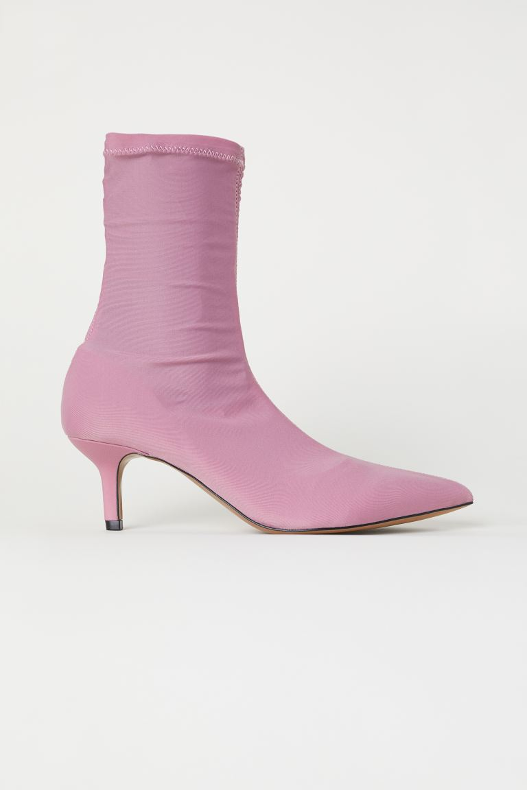 Sock-style court shoes - Pink - Ladies | H&M GB