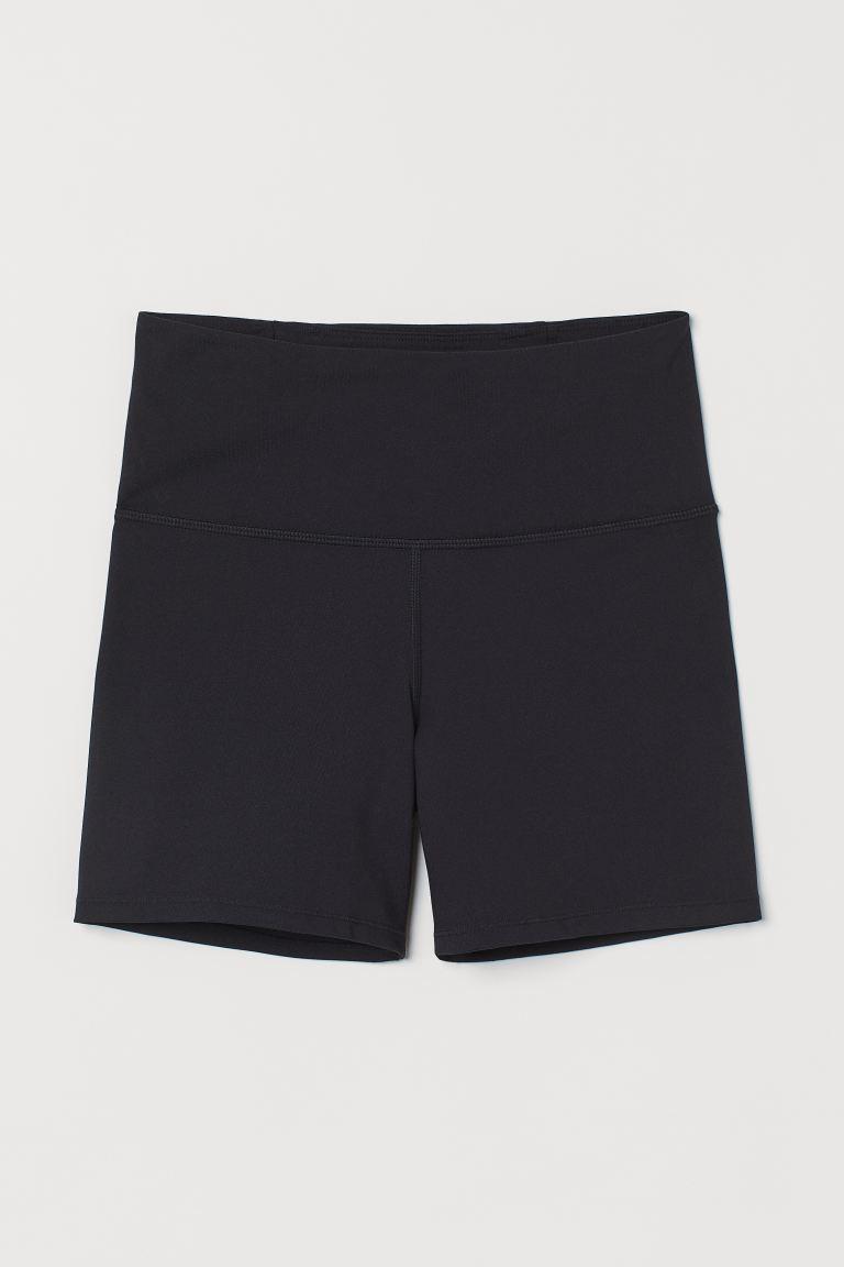 Hotpants High Waist - Schwarz - Ladies   H&M DE