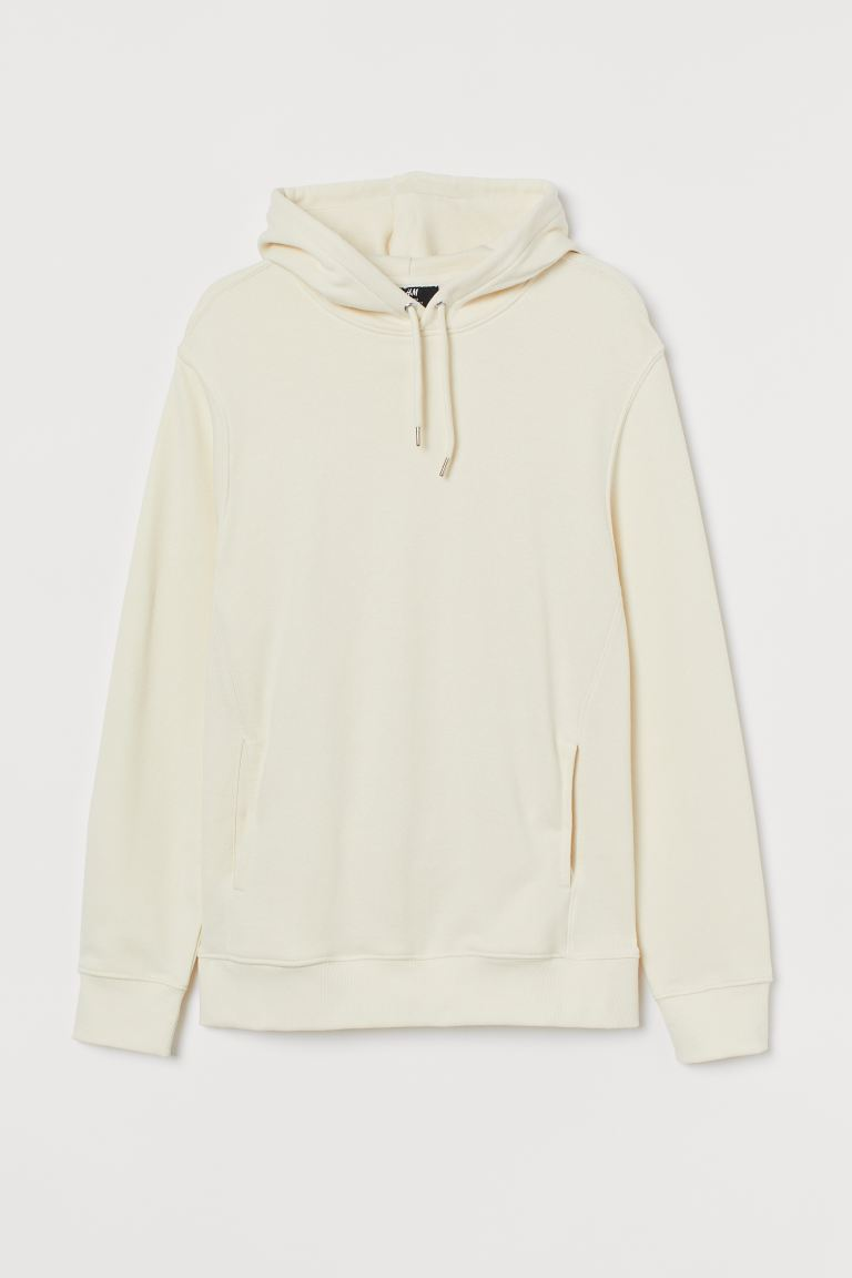 Regular Fit Hoodie - White - Men | H&M US
