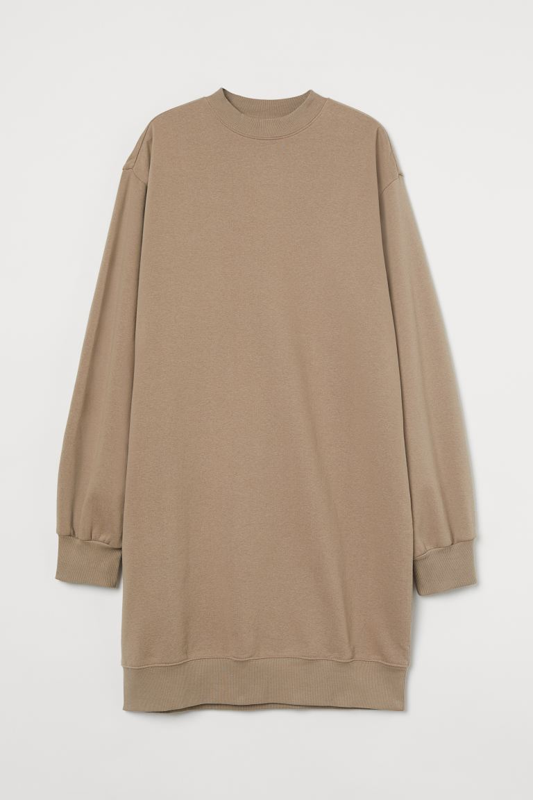 Sweater Dress - Beige - Ladies | H&M AU