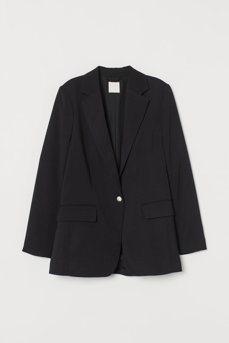 Einreihiger Blazer - Schwarz - Ladies | H&M AT