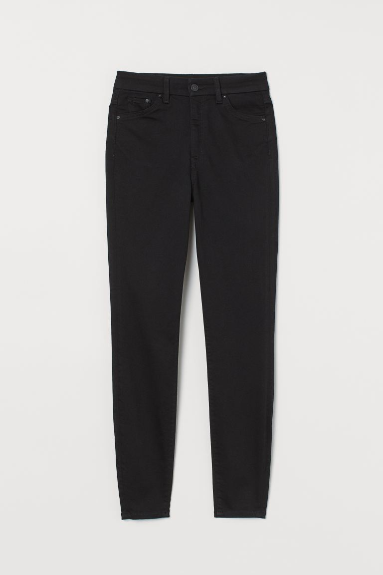 Embrace High Ankle Jeans - Musta/No fade black - NAISET | H&M FI