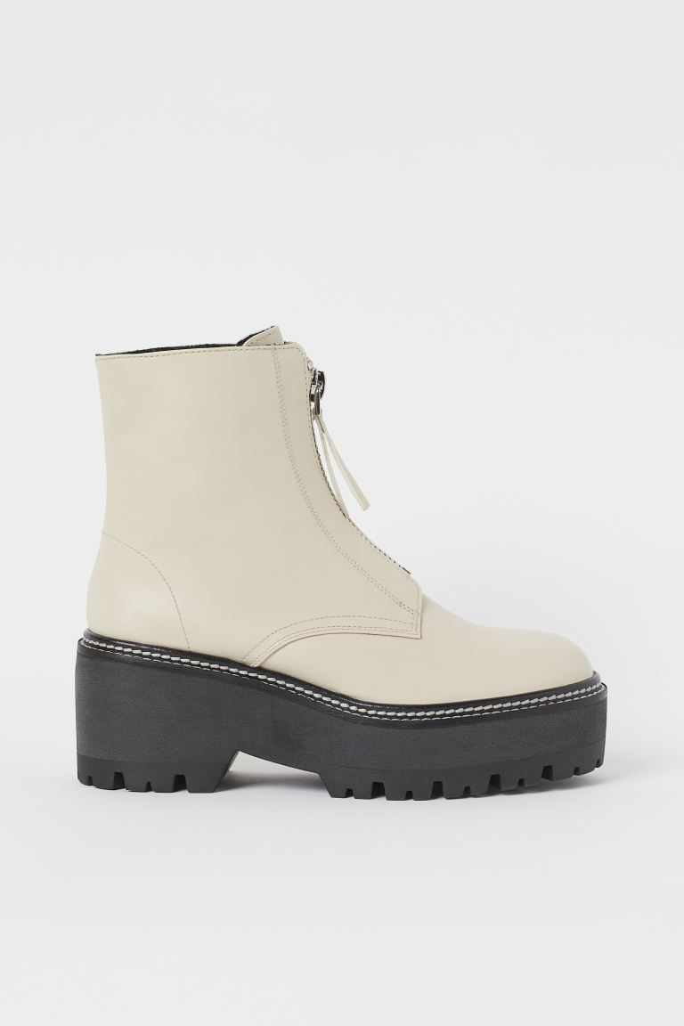 Warm-lined Boots - Light beige - Ladies | H&M US
