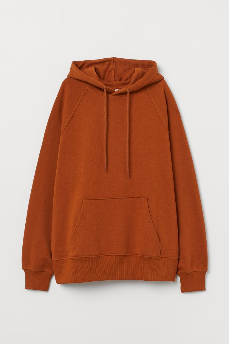 Hooded top - Rust brown - Ladies | H&M