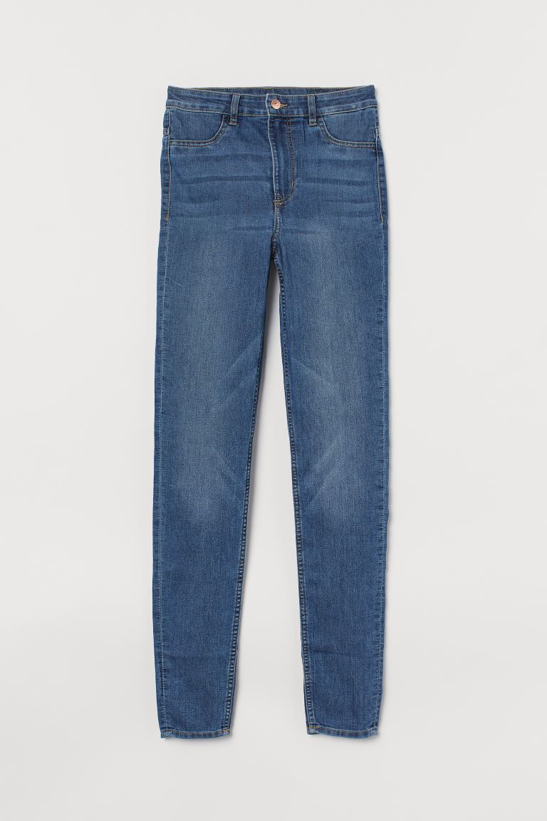 Super Skinny High Jeans - Denimblå - DAM | H&M SE