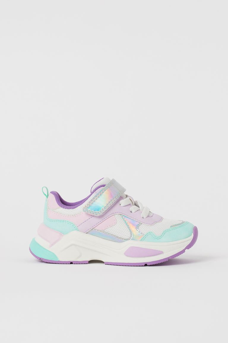 Sneakers - White/light pink - Kids | H&M US