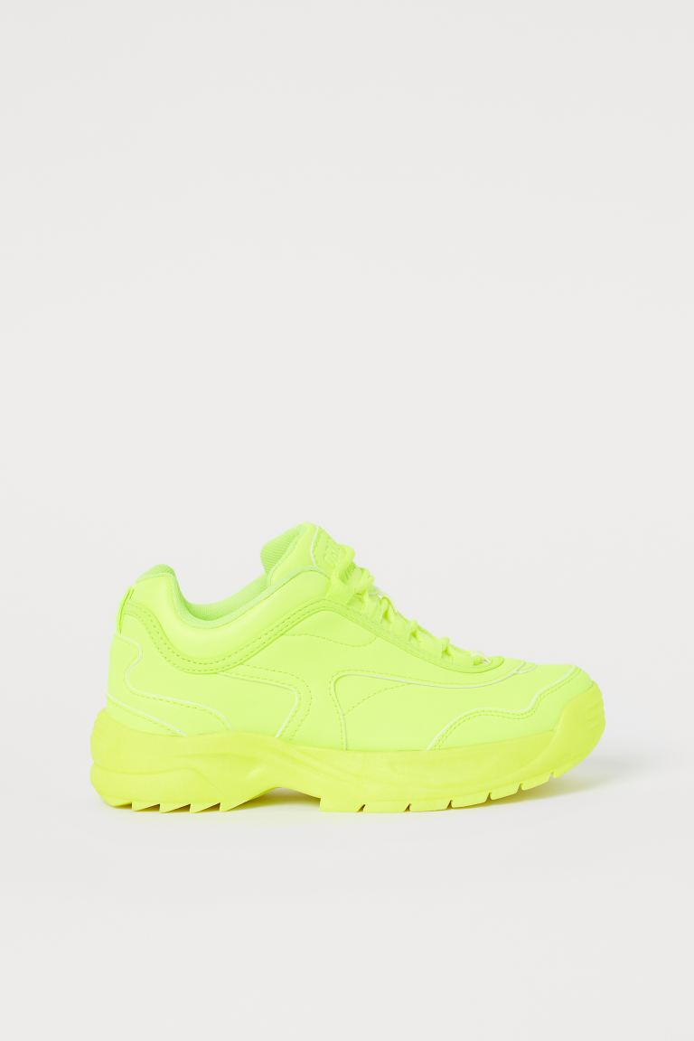 Sneakers - Neon yellow - Kids | H&M AU