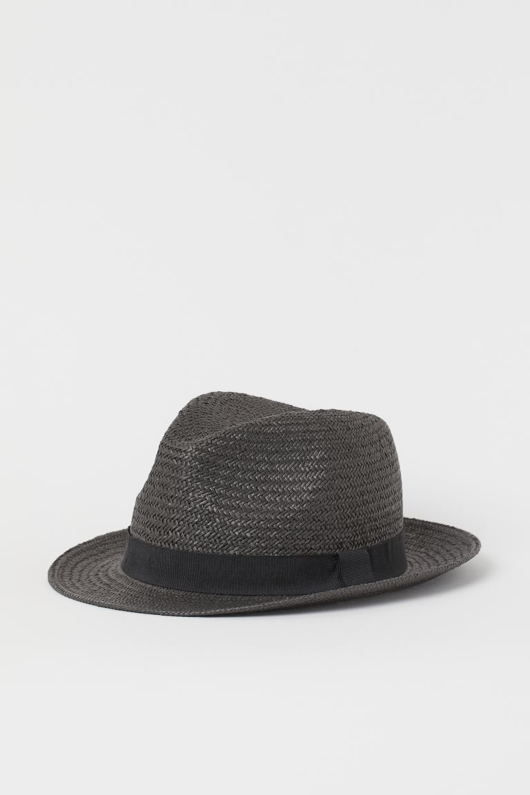 Straw hat - Black - Men | H&M